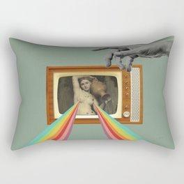 Tits on TV Rectangular Pillow