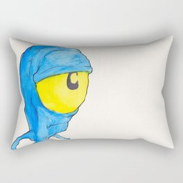 Blue Bob Rectangular Pillow