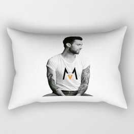 Adam Levine tatto Rectangular Pillow