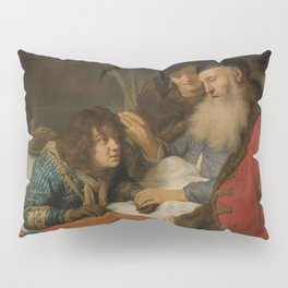 Govert Flinck - Isaac Blessing Jacob Pillow Sham