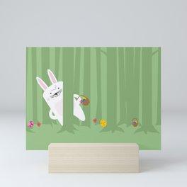 Easter Bunnyville Mini Art Print