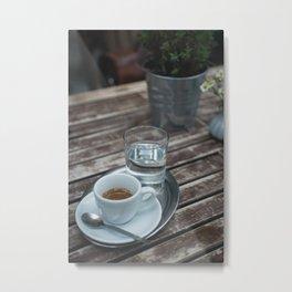 Coffee & Tea 03 Metal Print