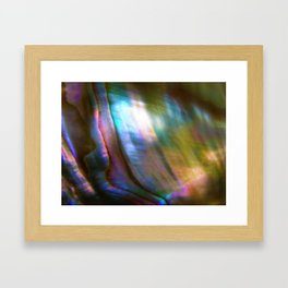 Mother of Pearl Framed Art Print