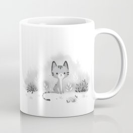 Little grey cat Coffee Mug