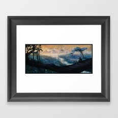 Plavim Forest Framed Art Print