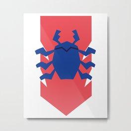 Bluepulse Metal Print