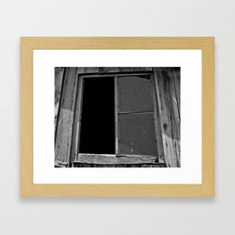 Only Half Broken Framed Art Print