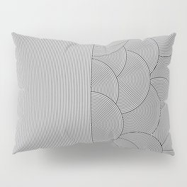 Two Lines Pillow Sham