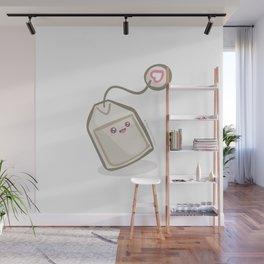 Joyful Tea Bag Wall Mural