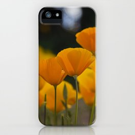 Gently Swaying in the Wind iPhone Case