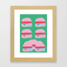 sliders is dreamy Framed Art Print