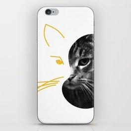 Gestalt Cat iPhone Skin