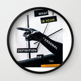 Unconscious Wall Clock
