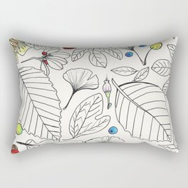 The Beauty of Leaves Rectangular Pillow