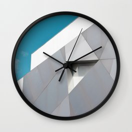 Blue Steel, ICA Miami, Miami Design District Wall Clock