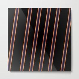 Diagonals Metal Print