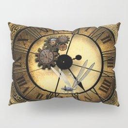 Steampunk design Pillow Sham