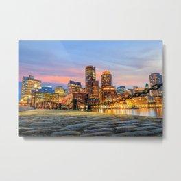 Boston 01 - USA Metal Print
