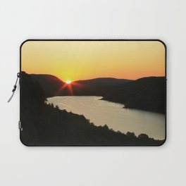 Sunrise over Lake of the Clouds Laptop Sleeve