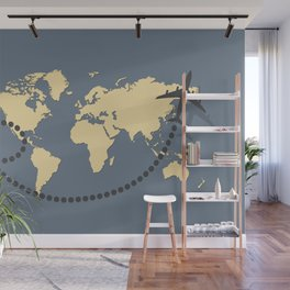 Let's travel 2 Wall Mural