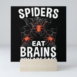 Halloween Creepy Spider Tarantula Mini Art Print