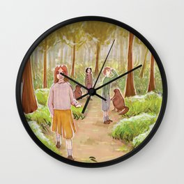 Winter's gone Wall Clock