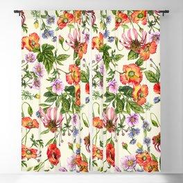 Flower garden #44 Blackout Curtain