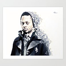 Jigsaw Art Print