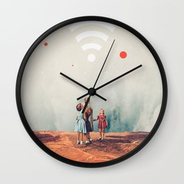 Wirelessly connected to Eternity Wall Clock