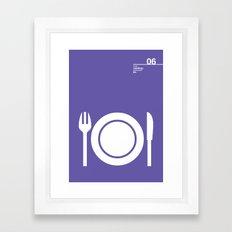 06_Webdings_E4 Framed Art Print