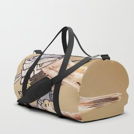 Birds In Armor Duffle Bag