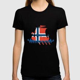 Norway Viking Norwegian lag Viking T-Shirts T-shirt