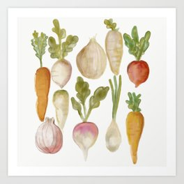 Veggie Garden Art Print