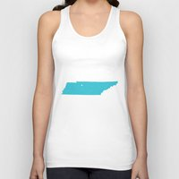 tennessee Tank Tops featuring Tennessee by Hunter Ellenbarger