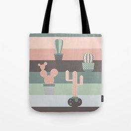 cacti colors Tote Bag