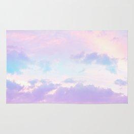 Unicorn Pastel Clouds #1 #decor #art #society6 Rug