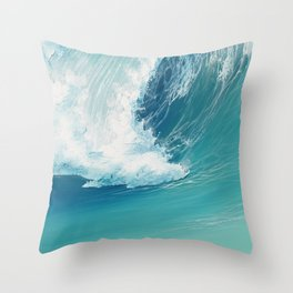 Musical Thunder Throw Pillow