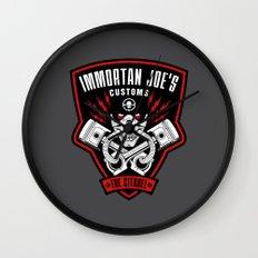 Immortan Joe's Customs Wall Clock