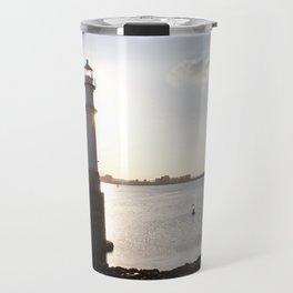 Leith Lighthouse Edinburgh Travel Mug