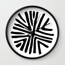 Taino star design for bohemian decor Wall Clock