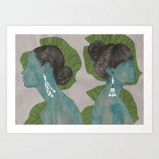 nilüfer Art Print