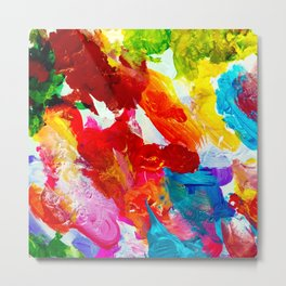 The Colors of my Life Metal Print