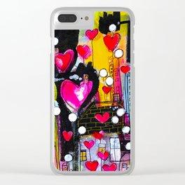 1026 Love Lane Clear iPhone Case