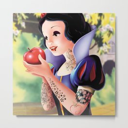 Snow White Punk  Metal Print