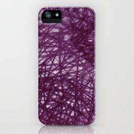 Ophelia Black iPhone Case