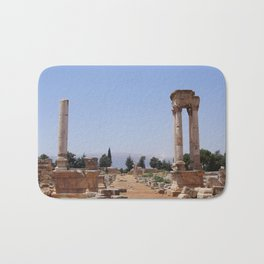Ruins - Pillars & Mountains  Bath Mat