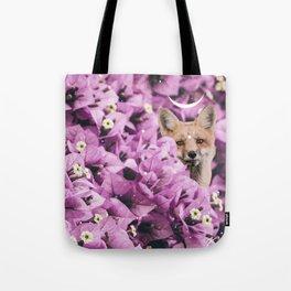 Lunar Fox Tote Bag