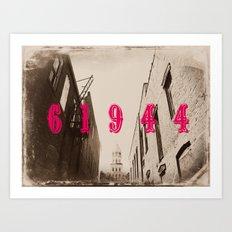 Paris, IL Art Print
