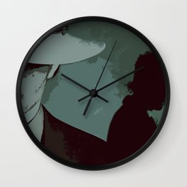 Raylan and Boyd 2 Wall Clock