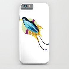 Blue Bird of Paradise iPhone 6s Slim Case